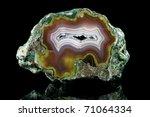 A Polished  Translucent Agate...