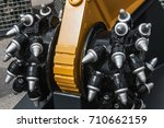 new drill head for the... | Shutterstock . vector #710662159