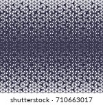 abstract geometric hipster... | Shutterstock .eps vector #710663017