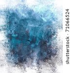 beautiful grunge splatter... | Shutterstock . vector #71066524