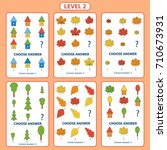 set of tasks for the... | Shutterstock .eps vector #710673931