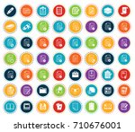 file folder icons | Shutterstock .eps vector #710676001