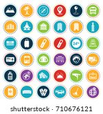 hotel icons | Shutterstock .eps vector #710676121