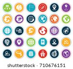 map icons | Shutterstock .eps vector #710676151