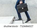 Businessman With Briefcase In...