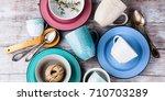 ceramic crockery tableware on
