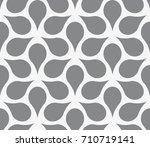 vector seamless pattern. modern ... | Shutterstock .eps vector #710719141
