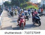 nha trang  vietnam   july 2017  ... | Shutterstock . vector #710727049