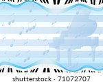 blue abstract background with a ... | Shutterstock . vector #71072707