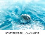 water drop on a feather | Shutterstock . vector #71072845