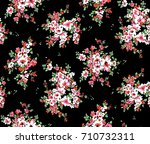 small flowers pattern.for... | Shutterstock . vector #710732311