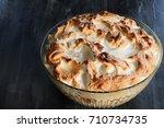 high angel view of homemade... | Shutterstock . vector #710734735