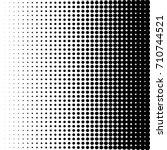 dots halftone vector... | Shutterstock .eps vector #710744521