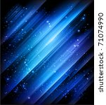 blue abstract background for your design - JPG version - stock photo