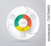 vector circle arrows for...   Shutterstock .eps vector #710754001
