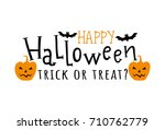 Happy Halloween. Vector...
