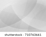 abstract background with lines... | Shutterstock .eps vector #710763661