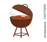 grill icon | Shutterstock .eps vector #710775595