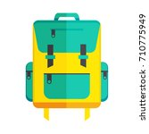 backpack icon | Shutterstock .eps vector #710775949