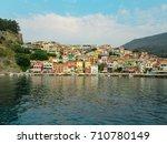 gulf of parga  greece | Shutterstock . vector #710780149