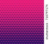 color triangle halftone... | Shutterstock .eps vector #710797174