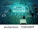 deep structured learning  ... | Shutterstock . vector #710816899