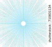 sunburst background thin radial ... | Shutterstock .eps vector #710831134