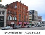 utica  ny  usa   feb. 22  2013  ... | Shutterstock . vector #710854165