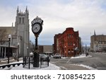 utica  ny  usa   feb. 22  2013  ... | Shutterstock . vector #710854225