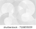 abstract background with lines... | Shutterstock .eps vector #710855059