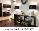 interior shot of a hall of... | Shutterstock . vector #71087998