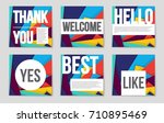 abstract vector layout... | Shutterstock .eps vector #710895469
