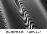 abstract silver tube stripe... | Shutterstock . vector #71091127