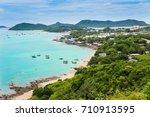 ocean view in thailand. | Shutterstock . vector #710913595