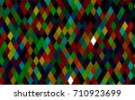 dark multicolor  rainbow vector ... | Shutterstock .eps vector #710923699