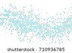 light blue vector pattern with... | Shutterstock .eps vector #710936785