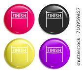 finish multi color glossy badge ...