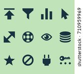 interface icons set. collection ...