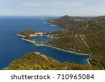 island of lastovo  croatia | Shutterstock . vector #710965084