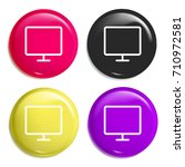 computer multi color glossy... | Shutterstock .eps vector #710972581