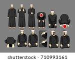 syafii salah prayer  sunni... | Shutterstock .eps vector #710993161