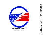 flag logo icon company | Shutterstock .eps vector #711004834