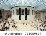 london  uk   july 9  2016 ... | Shutterstock . vector #711009637