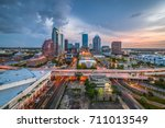 tampa  florida  usa aerial... | Shutterstock . vector #711013549