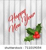 vector realistic hand drawn... | Shutterstock .eps vector #711019054