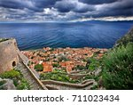 "the medieval ""castletown"" of... 