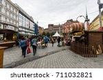 brno  czech republic   june 17  ... | Shutterstock . vector #711032821