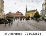 brno  czech republic   june 17  ... | Shutterstock . vector #711033691