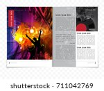 brochure layout | Shutterstock .eps vector #711042769