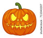 halloween pumpkin | Shutterstock .eps vector #711043207